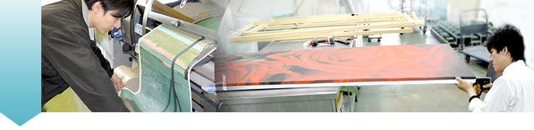 写真の印刷とピクチャスクリーンの制作