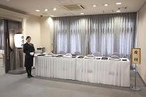 受付スペースも広く会葬者の多い<br /> 葬儀もスムーズに執り行えます