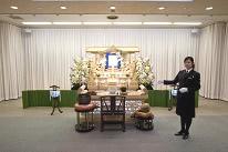 家族葬から社葬まで対応できる<br /> 設備の充実した葬儀式場