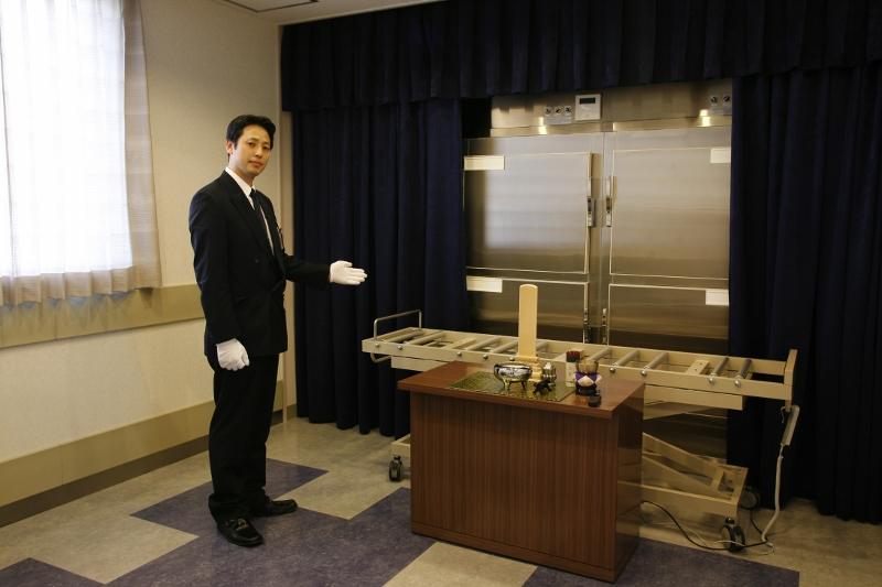 霊安室には安心の保冷設備を完備<br /> 故人様を大切にお預かり致します