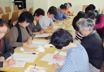 筆ペン字教室2