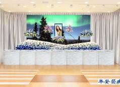 シェリール祭壇 オーロラ 高210cm×横2間半(450cm)のコピー